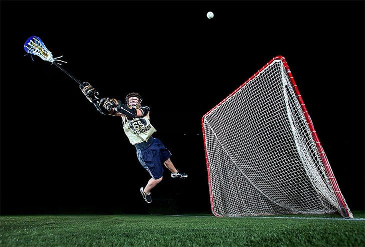 how to play lacrosse goalie